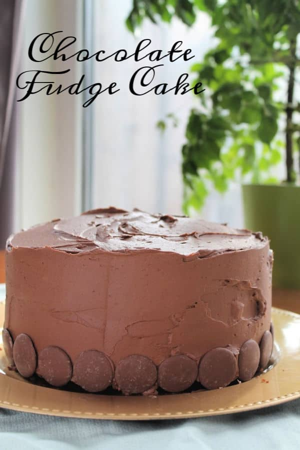 Chocolate Fudge Cake whole