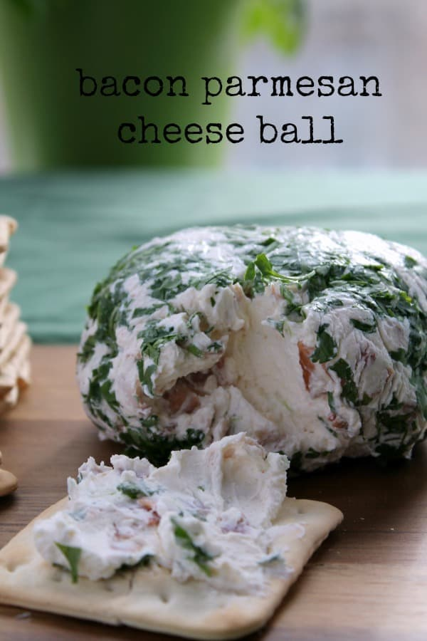 Bacon Parmesan Cheese Ball | How to be Awesome on $20 a Day