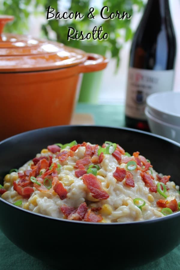 Bacon & Corn Risotto | How to be Awesome on $20 a Day