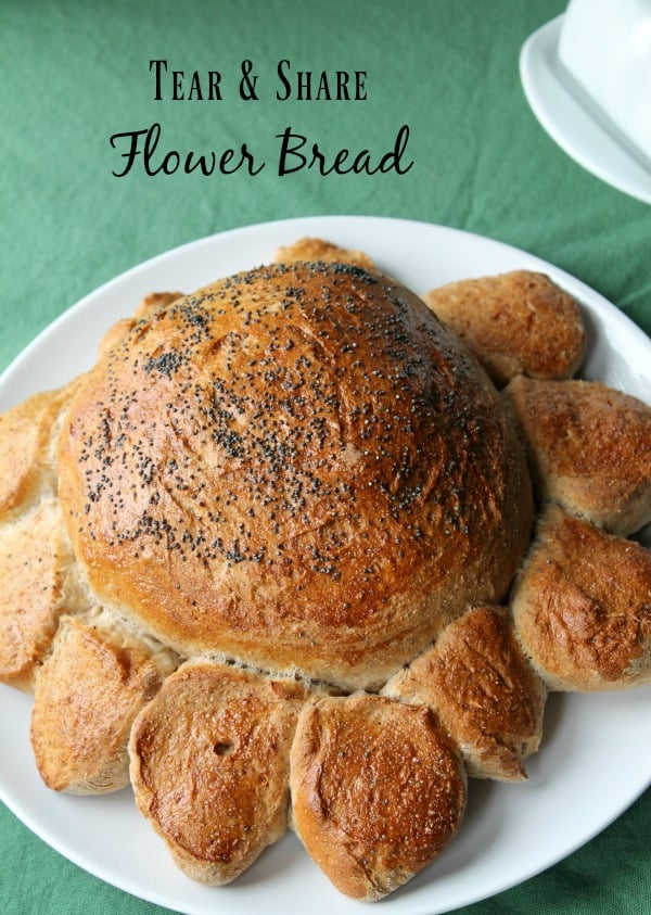 Tear & Share Flower Bread | How to be Awesome on $20 a Day