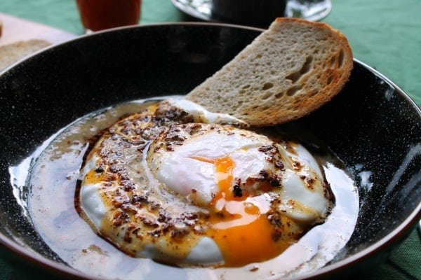 Turkish Eggs   How to be Awesome on $20 a Day