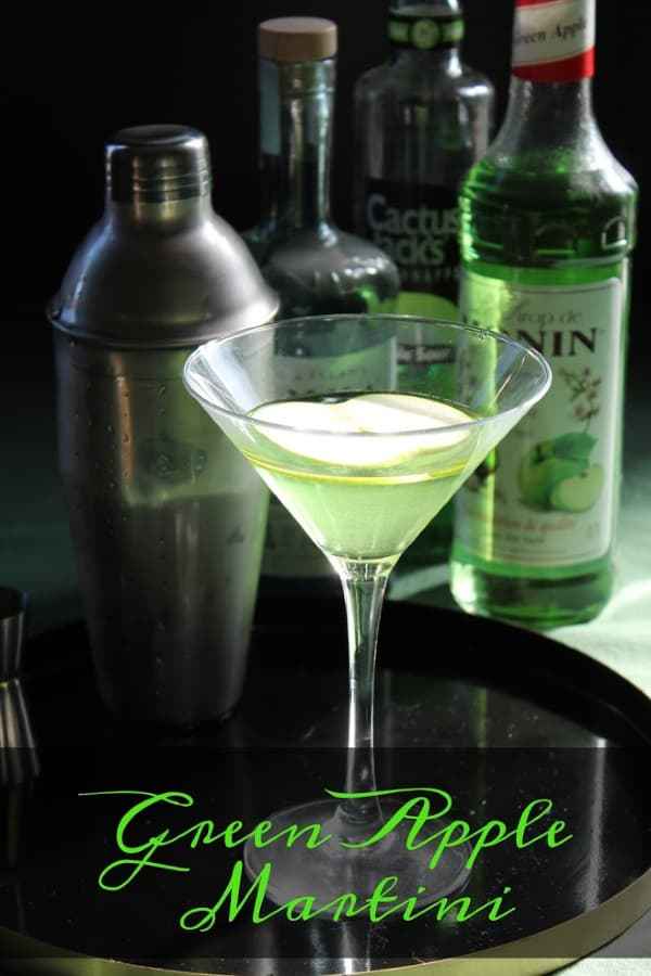 Green Apple Martini   How to be Awesome on $20 a Day