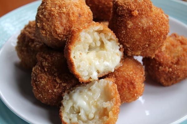 Oozy Risotto Balls| How to be Awesome on $20 a Day