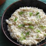 White Risotto | How to be Awesome on $20 a Day