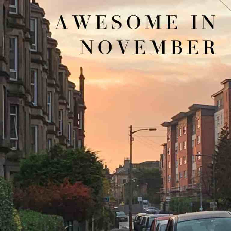Awesome in November | How to Be Awesome on $20 a Day