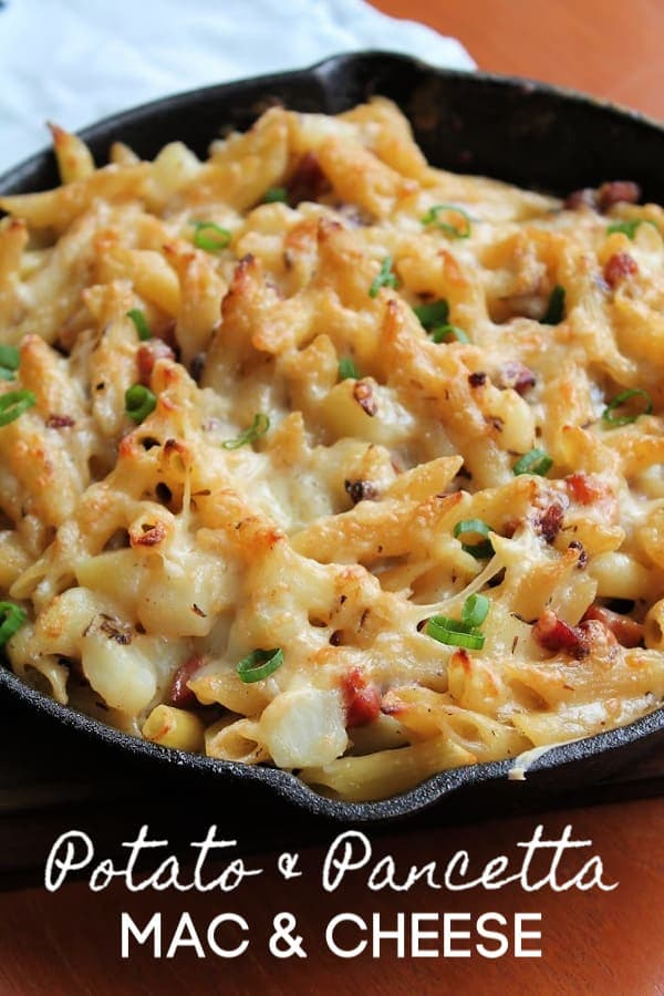 Potato & Pancetta Mac & Cheese   How to Be Awesome on $20 a Day