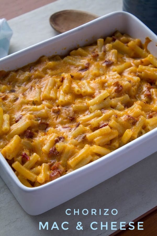 Chorizo Mac & Cheese | How to Be Awesome on $20 a Day