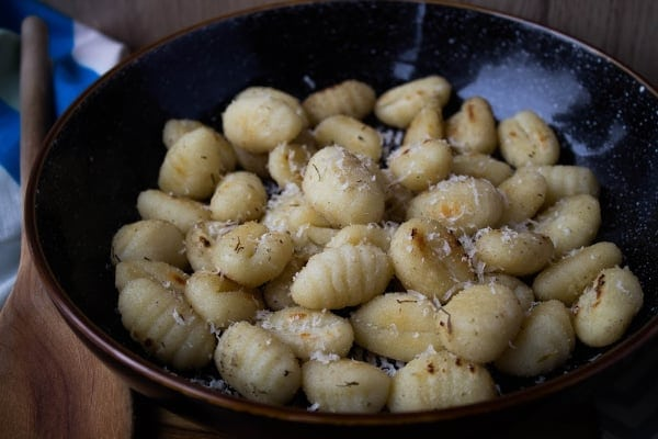 Parmesan Fried Gnocchi | How to Be Awesome on $20 a Day
