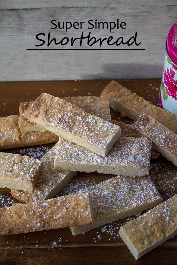 Super Simple Shortbread | How to Be Awesome on $20 a Day