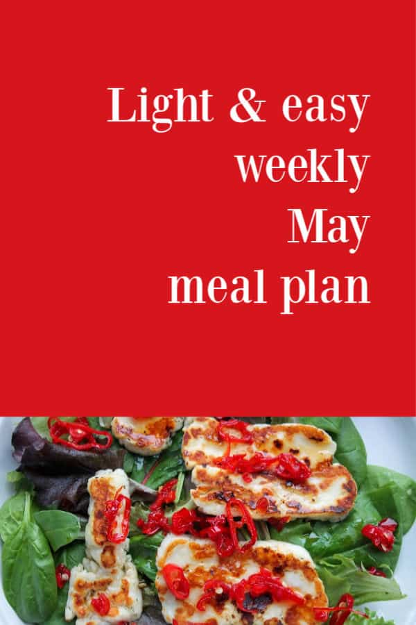 May Meal Plan | How to Be Awesome on $20 a Day