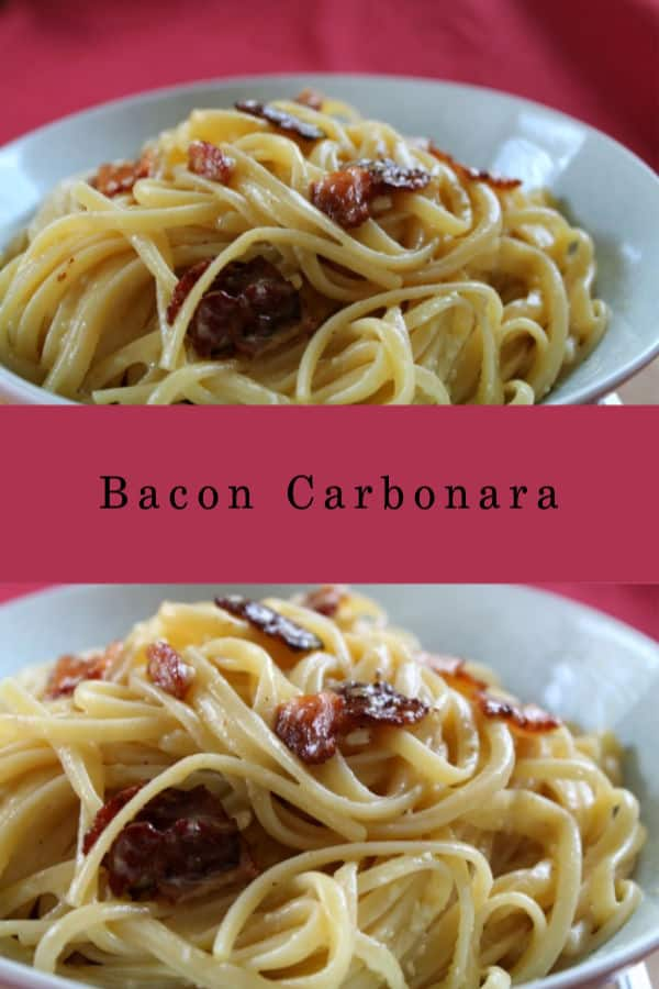 Bacon Carbonara | How to Be Awesome on $20 a Day