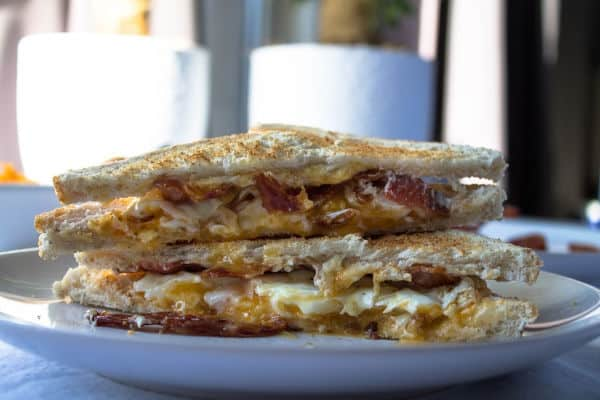 The Best Bacon Egg & Cheese Sandwich
