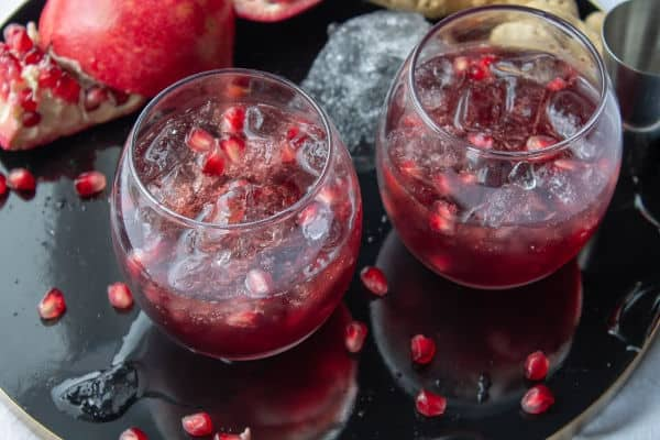 Ginger Pomegranate Cocktail