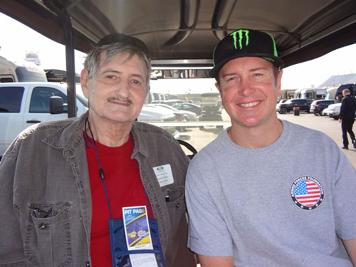 Kurt Busch Meeting driver