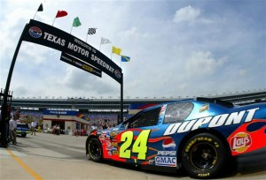 jeff Gordon at texas 2004