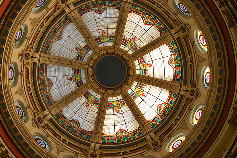 San Mateo County History Museum Dome