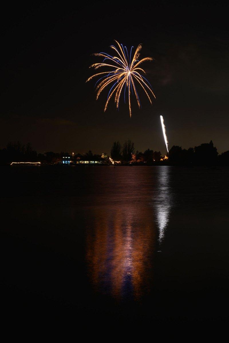 reworks at Shoreline Lake