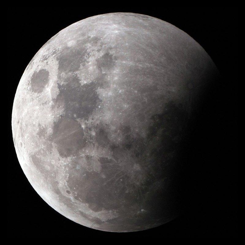 Lunar Eclipse at 1/800s