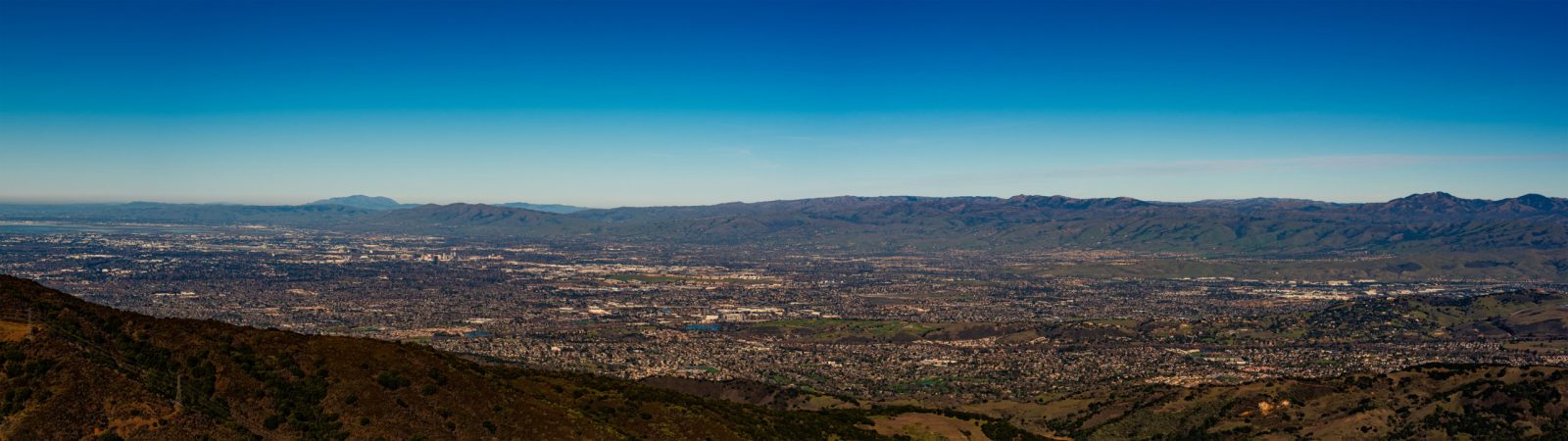 Silicon Valley from Mount Umunhum