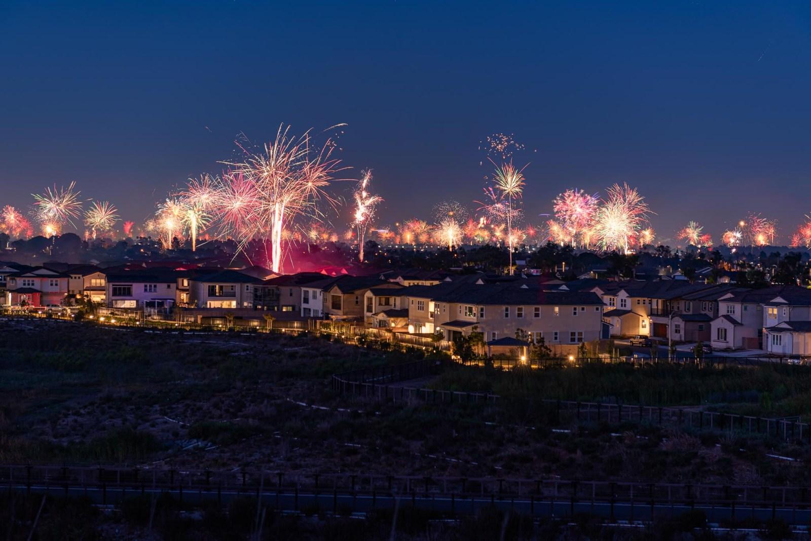 Huntington Beach Fireworks