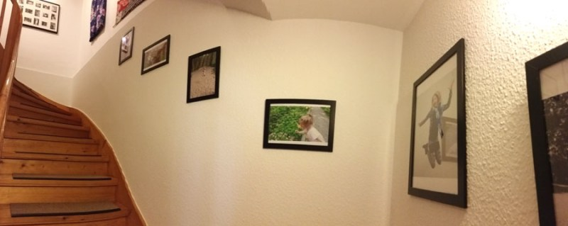 my thrifty stairway & landing decor
