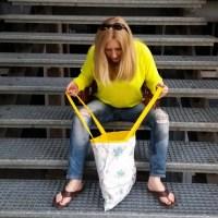 upcycled diy hankie totebag tutorial