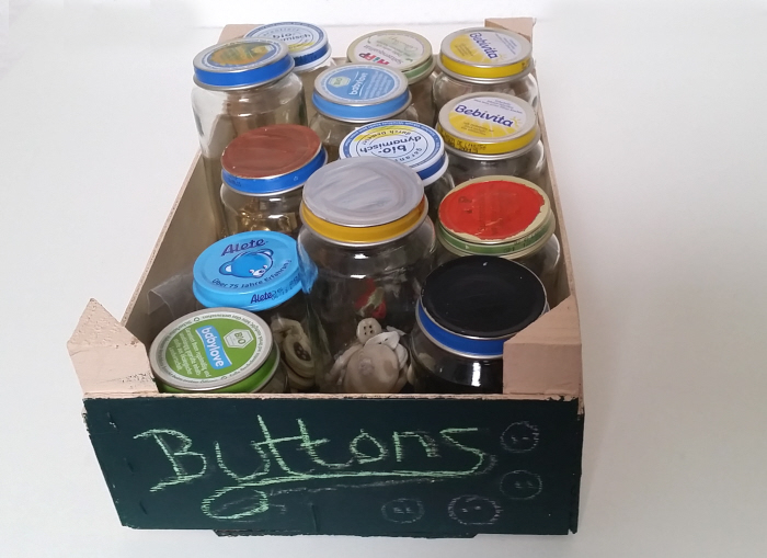 Button Stash Storage