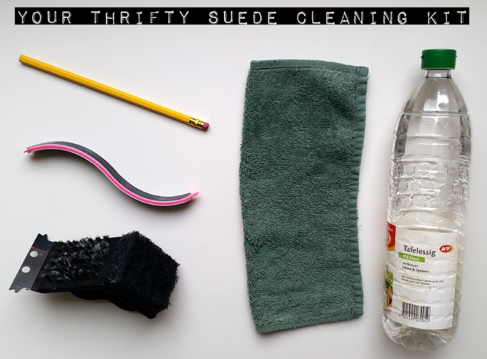Thrifty Suede Cleaning Kit