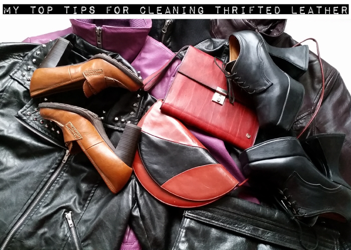 Top tips for cleaning thrifted leather