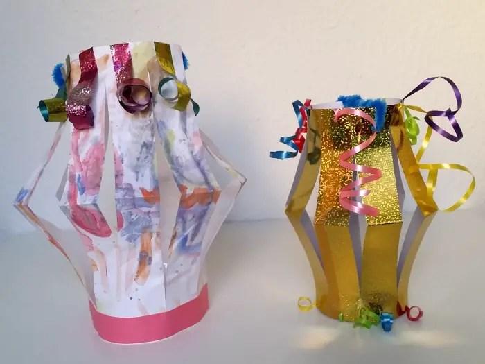 easy DIY paper lanterns