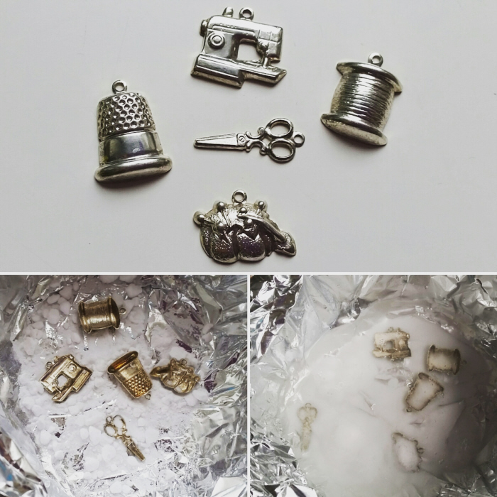 how to clean metal decor 2