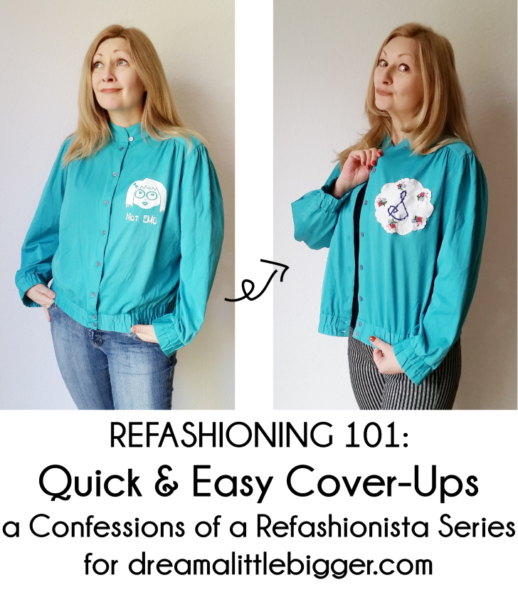 Refashioning 101 Quick & Easy Cover-Ups