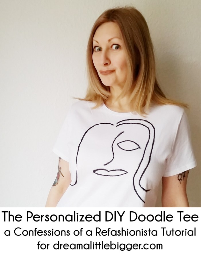 The Personalized DIY Doodle Tee