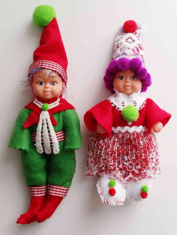Easy DIY Elf on the Shelf