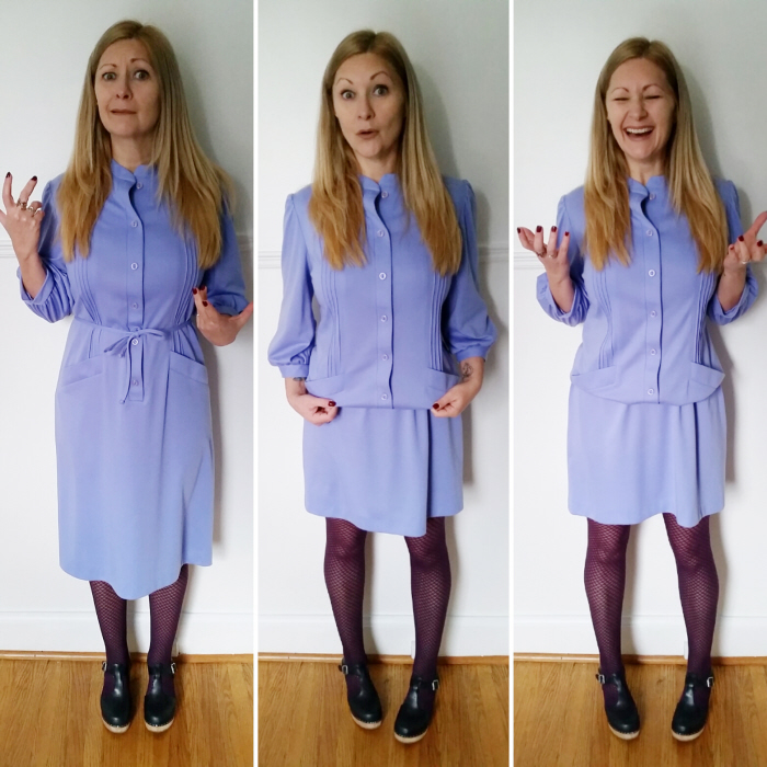 How to shorten a dress without sewing