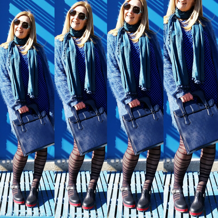 Shades of Blue for #ThriftyThursday