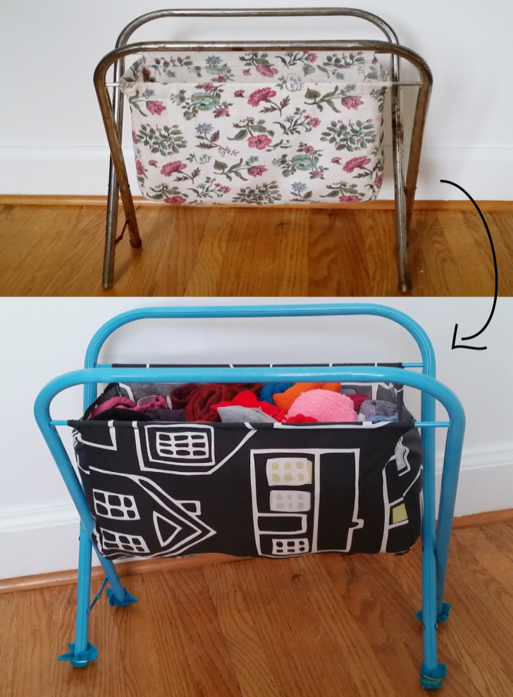 Refurbish a Vintage Magazine Rack