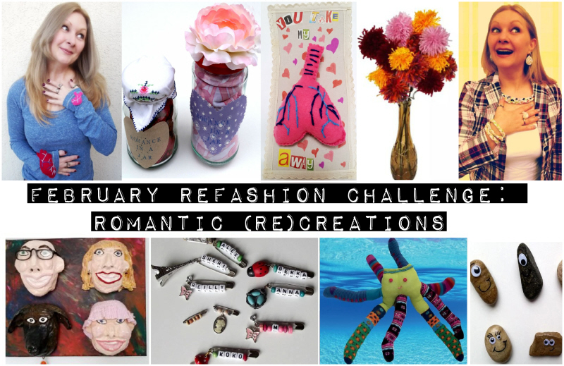 February Refashion Challenge: Romantic (Re)creations