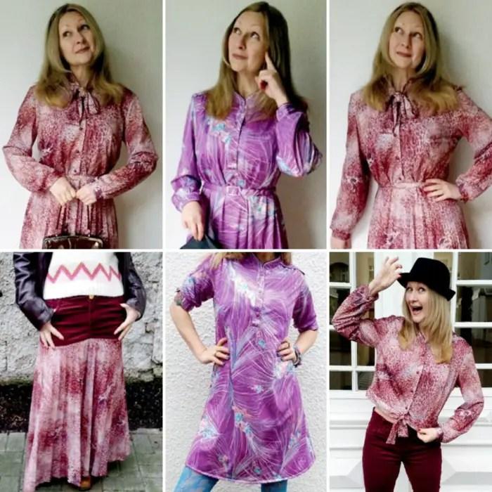 3 Fugly Vintage Dress Refashion Tutorials