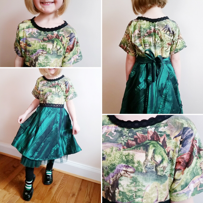 How to DIY a bodice and upsize a dress