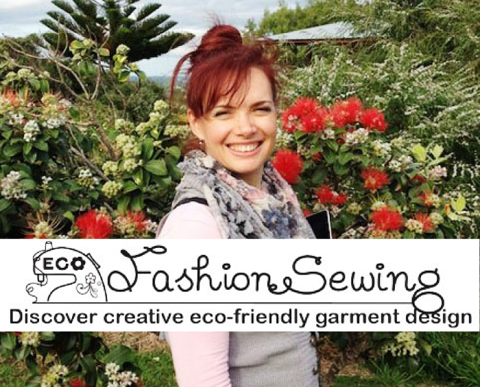 Totally Smitten With Ecofashion Sewing