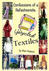 Upcycled textiles cover