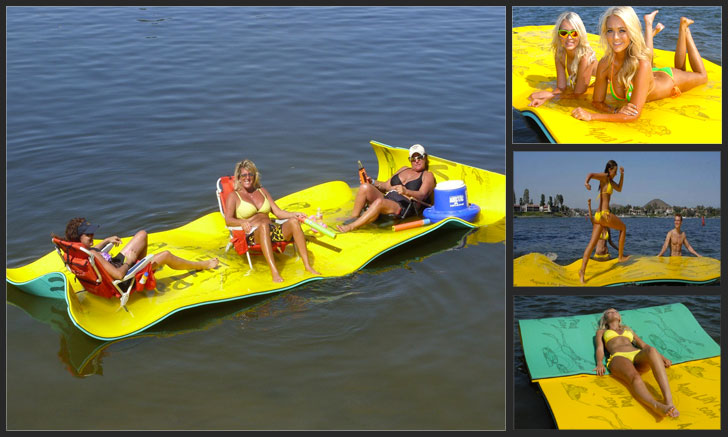 Floating Foam Pads  Awesome Stuff 365