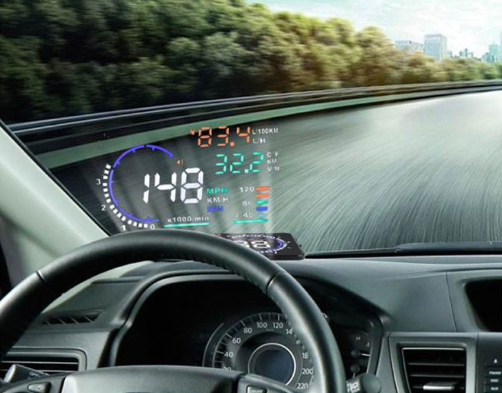 Car Heads Up Display  Awesome Stuff 365