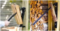 Wall Mounted Log Splitter - Awesome Stuff 365