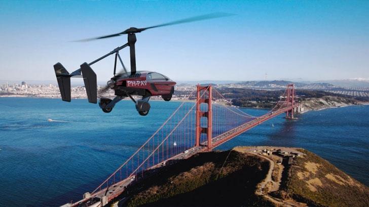 Pal-V Liberty Flying Futuristic Flying Car