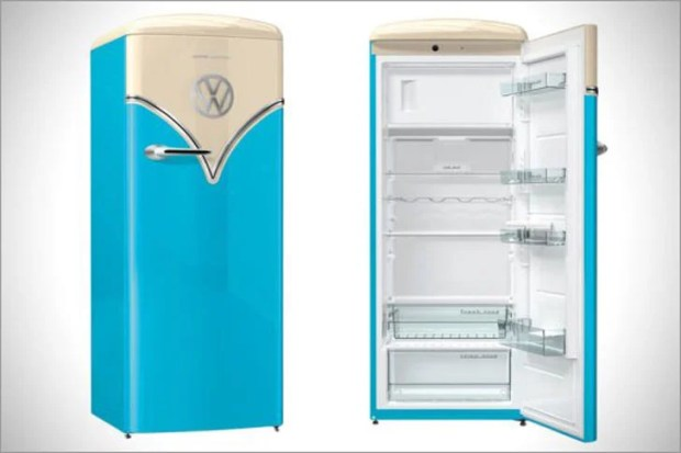 Retro VW Bus Fridge
