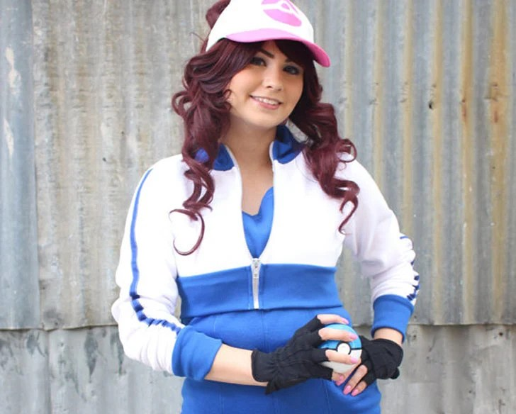 Traje azul Cosplay Pokemon GO Trainer Cosplay
