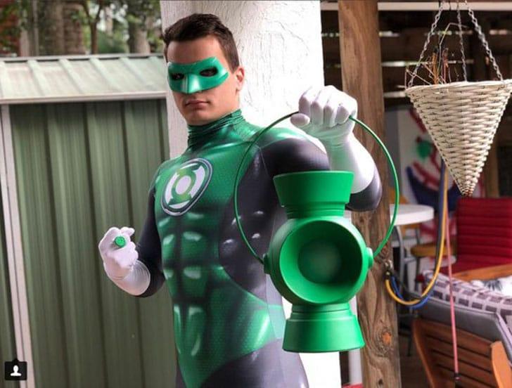 Traje Lanterna Verde