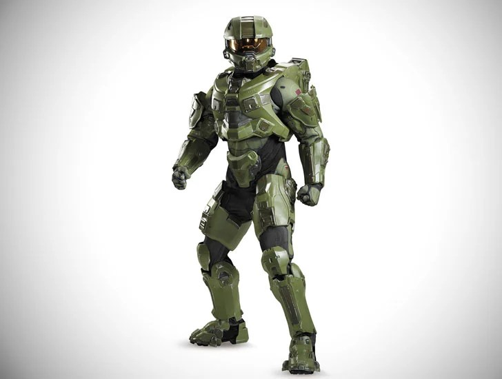 Fato de Halo Master Chief Ultra Prestige para adulto